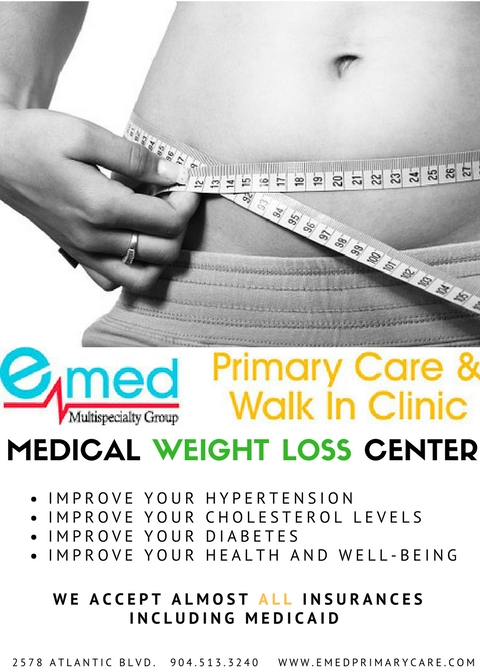 weight loss flyer emed primary care walk in clinic jacksonville